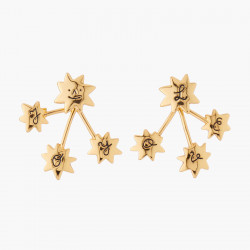 I Love You Star Stud Earrings