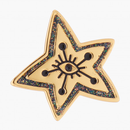 Collier ballerine et clef de Sol tutu pavé de strass lilas