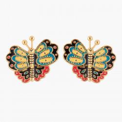 Boucles D'oreilles Boucles D'oreilles Tiges Papillon Multicolore