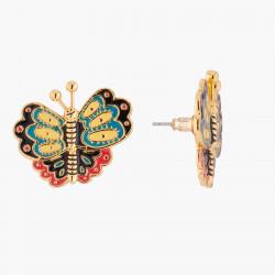 Boucles D'oreilles Originales Boucles D'oreilles Tiges Papillon Multicolore70,00€ AKRB105T/1N2 by Les Néréides