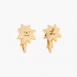 Star And Love Clip-on Earrings