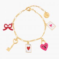 Bracelets Originaux Bracelet Charms Symboles D'amour70,00€ AKRB203/1N2 by Les Néréides