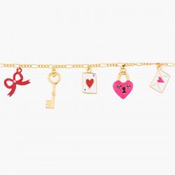 Bracelets Bracelet Charms Symboles D'amour70,00€ AKRB203/1N2 by Les Néréides