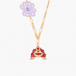 Clover And Ladybug Pendant...