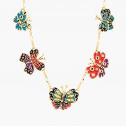 Colliers Originaux Collier Plastron Joyeux Papillons130,00€ AKRB304/1N2 by Les Néréides