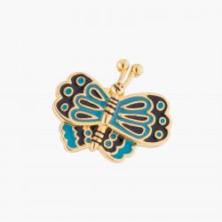 Pins Mariposa Azul Feliz