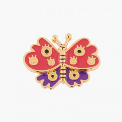 Merry Red Butterfly Pin