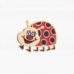 Merry Ladybug Brooch