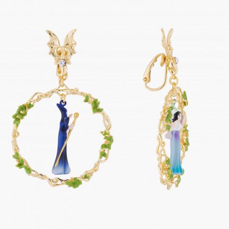 Collier couture bouquet du jardin de provence