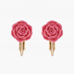 Boucles D'oreilles Boucle D'oreille Clip Rose