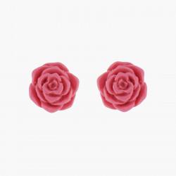 Pendiente Bolitas Rosa