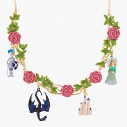 Colliers Collier Plastron Belle Endomie Et Lit De Roses