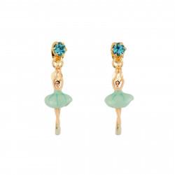 Boucles D'oreilles Pendantes Boucles D'oreilles Mini Ballerine En Tutu Bleu70,00€ AEMDD101T/3Les Néréides