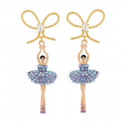 Bow And Ballerina Wearing A...