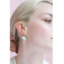 Boucles D'oreilles Pendantes Boucles D'oreille Asymétriques Pas De Deux Bleu90,00€ XDD108T/1Les Néréides