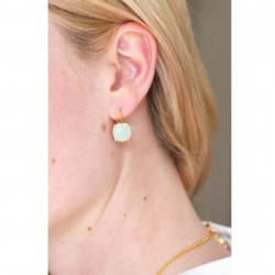 Boucles D'oreilles Dormeuses Boucles D'oreilles La Diamantine Pierre Carrée50,00€ XLD101D/1Les Néréides