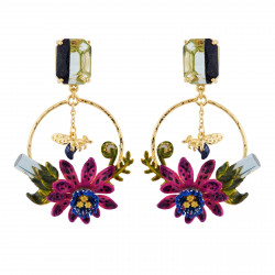 Two-color Faceted Crystal,...