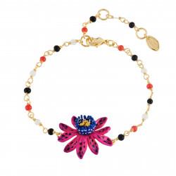 Bracelets Fins Bracelet Perlé Petite Fleur De Fruit De La Passion