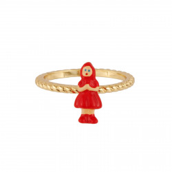 Ring With Miniature Of The...