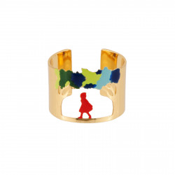 Signet Ring With Little Red...