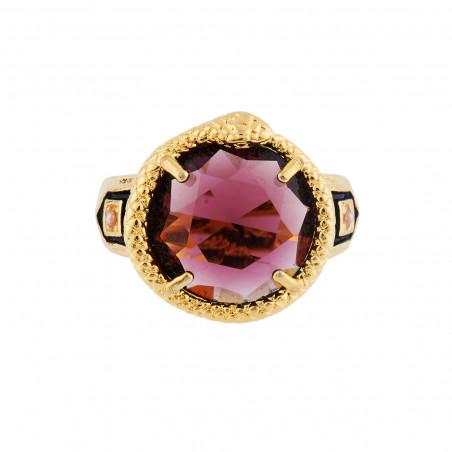 Aurore purple one raw luxurious bracelet