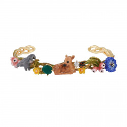 Cuff With Fawn And Bunnies...