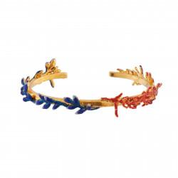 Bracelets Jonc Bracelet Jonc Branches De Coraux Rouges Et Bleus120,00€ AIFM204/1Les Néréides