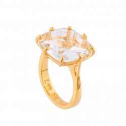 Bague Solitaire Bague Solitaire Pierre Carré La Diamantine Cristal60,00€ AILD602/2Les Néréides