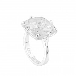 Bague Solitaire Bague Solitaire Pierre Carré La Diamantine Silver Cristal60,00€ AILD602/3Les Néréides