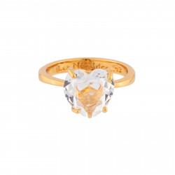 Crystal Heart Stone La...