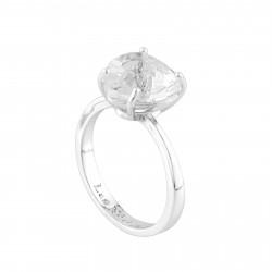 Bague Solitaire Bague Solitaire Pierre Cœur La Diamantine Silver Cristal50,00€ AILD617/3Les Néréides