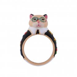 Anillo Gato Con Vestido...