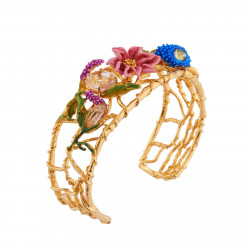 Bracelets Jonc Bracelet Manchette Bouquet D'une Symphonie De Fleurs175,00€ AISF204/1Les Néréides