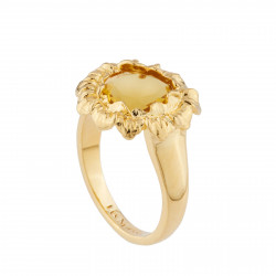 Bague Solitaire Bague Tournesol