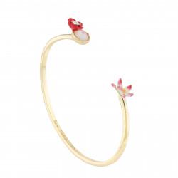 Bracelets Jonc Bracelet Jonc Coquelicot, Fleur Blanche Et Nacre110,00€ AJED205/1Les Néréides