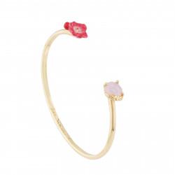 Bracelets Jonc Bracelet Jonc Coquelicot, Cœur Et Cristal Taillé110,00€ AJED206/1Les Néréides