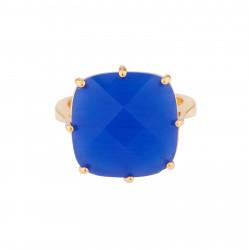 Bague Solitaire Bague Solitaire La Diamantine Pierre Carrée Bleu Roi60,00€ AJLD602/1Les Néréides