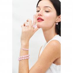 Bague Solitaire Bague La Diamantine Pierre Carrée Rose60,00€ AJLD602/2Les Néréides