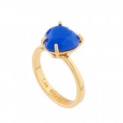 Royal Blue Heart Stone La...