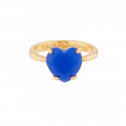 Bague Solitaire Bague Solitaire La Diamantine Pierre Cœur Bleu Roi50,00€ AJLD617/1Les Néréides