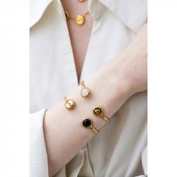 Bracelets Jonc Bracelet Jonc Infini Et Onyx Noir90,00€ AKBC202/1Les Néréides