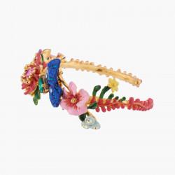 Four-leaf-clover clip earrings