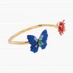Bracelets Jonc Bracelet Jonc Papillon Ulysses Et Fleur De Waratah130,00€ AKEP204/1Les Néréides