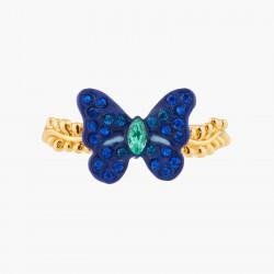Bagues Fines Bague À Taille Papillon Ulysse Et Cristaux60,00€ AKEP603/1Les Néréides
