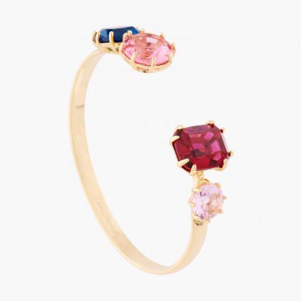 Bracelets Jonc Bracelet Jonc 4 Pierres La Diamantine Multicolore110,00€ AKLD254/1Les Néréides