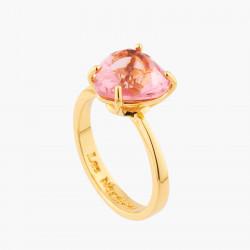 Bague Solitaire Bague Solitaire Pierre Cœur Rose Pêche La Diamantine Multicolore50,00€ AKLD617/1Les Néréides