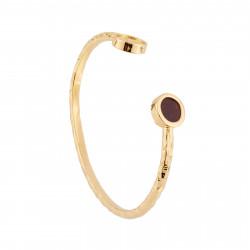 Bracelets Jonc Bracelet Jonc Chanceux Main Et Pierre Symbole De Protection50,00€ AHBC204/1Les Néréides