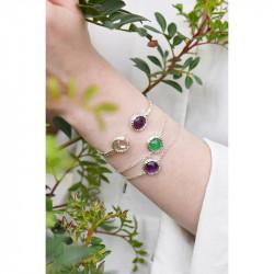 Bracelets Jonc Bracelet Jonc Lune Et Améthyste Violette90,00€ AKBC204/2Les Néréides