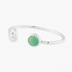 Bracelets Jonc Bracelet Jonc Étoile Et Agate Verte90,00€ AKBC203/2Les Néréides