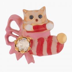 Boucles D'oreilles Tiges Boucles D'oreilles Tiges Chaton Et Chaussette De Noël95,00€ AKNO101T/1Les Néréides